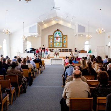 Les églises sont spéciales pour Dieu