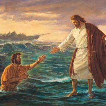 Bénédictions de suivre Jésus-Christ