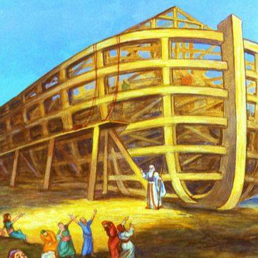 La nouvelle arche est ouverte