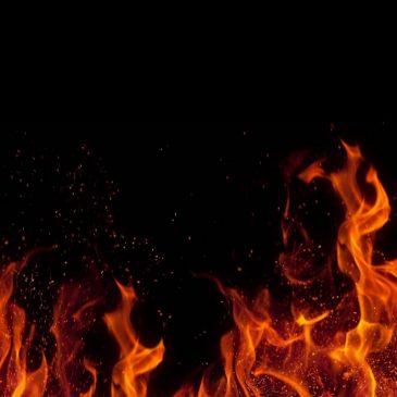 Dieu sur le point de tuer Satan