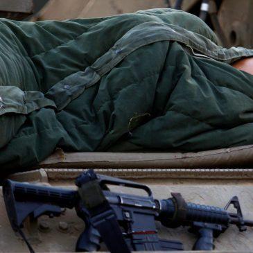 Soldats chrétiens endormis.