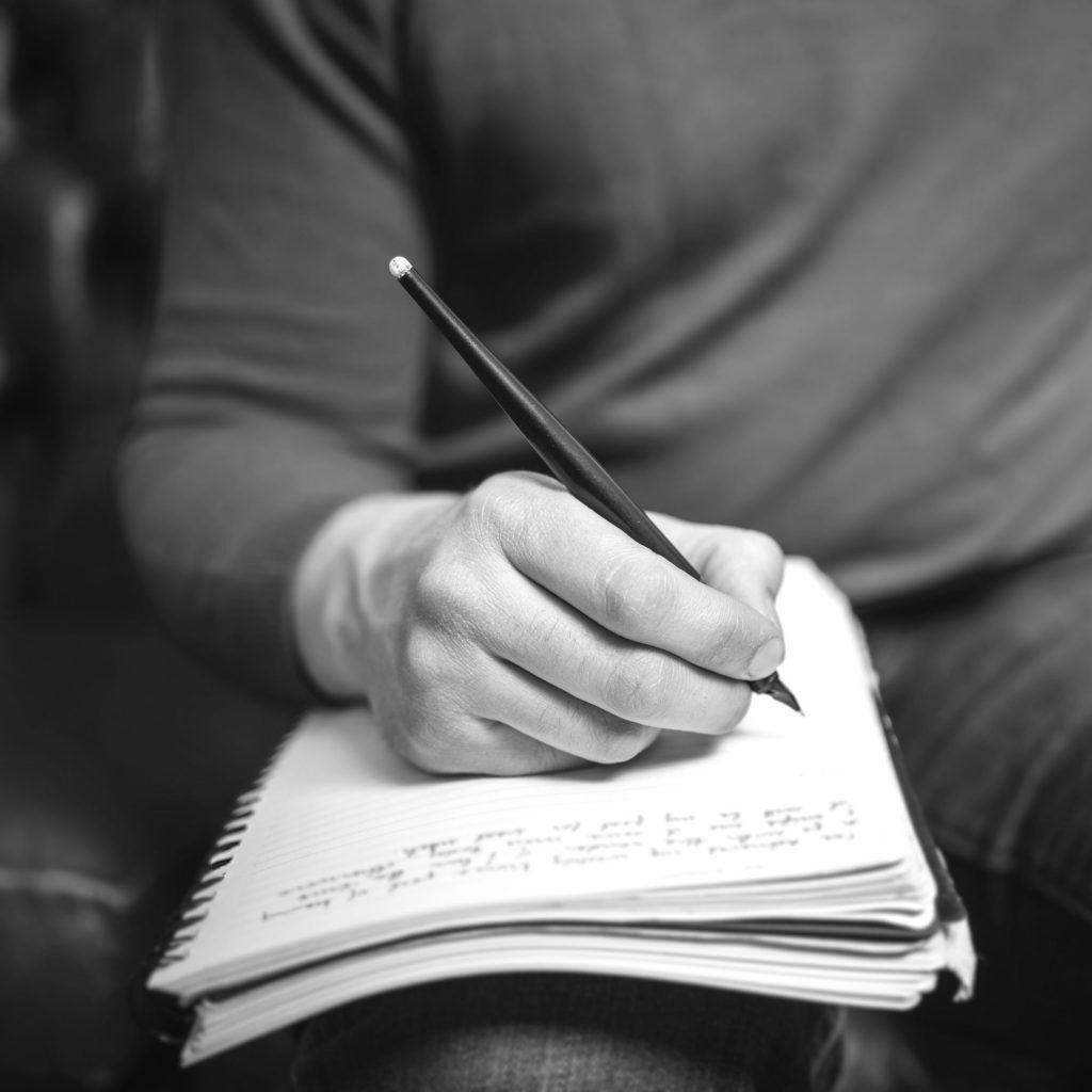 Mon voyage d'écriture pour Dieu