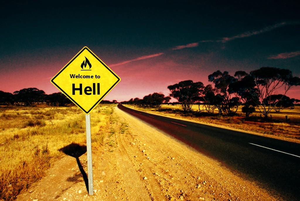 Sites Web menant les chrétiens en enfer