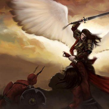 Ta prière fait que les anges de Dieu combattent les démons