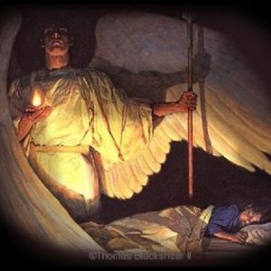Angel near my bed